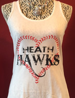 Heath Hawks Baseball Tank