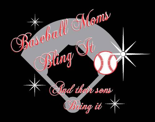 Baseball Moms Bling It and Their Sons Bring It Tank 48c147ec1