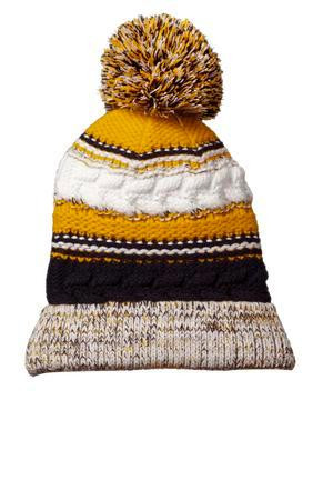 9a0ff14971b Home · Just Because  Spectator Pom Beanie. navy gold white. Loading zoom