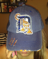 Blinged Out Detroit Tigers Baseball Cap