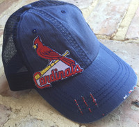 Blinged St. Louis Cardinals Baseball Cap