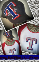 Texas Rangers Custom Bling Tee