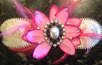 Lifetime Baseball Corsage in Pink