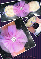 Lifetime Baseball Corsage in Lavender