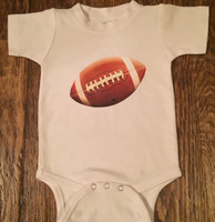 Football Baby Onesie and Toddler Tee