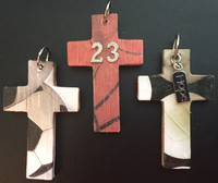 Sports Cross Pendants