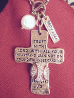 Proverbs Baseball Necklace
