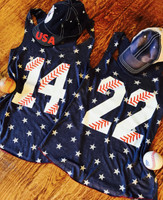 Personalized Baseball Stars Tank