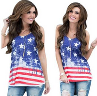 Fourth Of July Patriotic Sublimation Tank