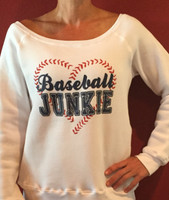 Baseball Junkie Fleece Pullover