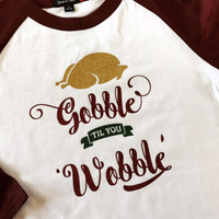Thanksgiving Raglan Tee