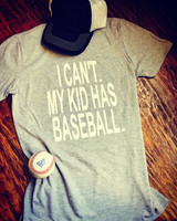 I can't. My Kid Has Baseball.