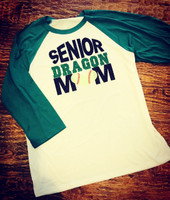 Senior Dragon Mom Tee