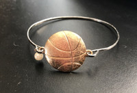 Basketball Latch Bracelet