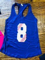 1 Sample Number Tank ladies size XXL