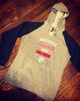 National Baseball Day Hooded Fleece