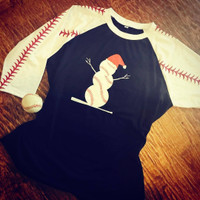 1 Baseball Frosty Sample UNISEX SIZE LARGE