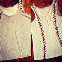 Baseball Tank Blank for DIYers