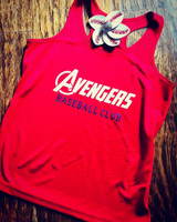Custom Avengers Team Wear Flowy Tank