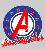 Avengers Baseball Club Silk Screened Fan Tee