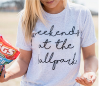 Weekends at The Ballpark Softstyle Tee
