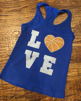 Basketball  Love Tee or Tank