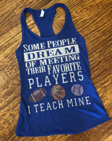 Teacher's Favorite Players Tee