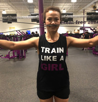 Train Like A Girl Fitness Tank