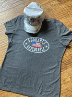 Adorable Deplorable V-Neck Soft Style Tee