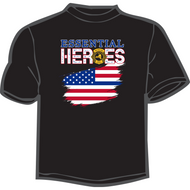 Hero Flag Design Tee shirt