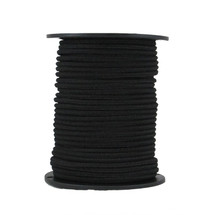 "7/32"" Reflective Bungee Shock Cord Black"