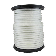"5/8"" Solid Braid KnotRite Nylon Rope White"