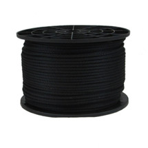 "1/8"" Polyester Rope Black"