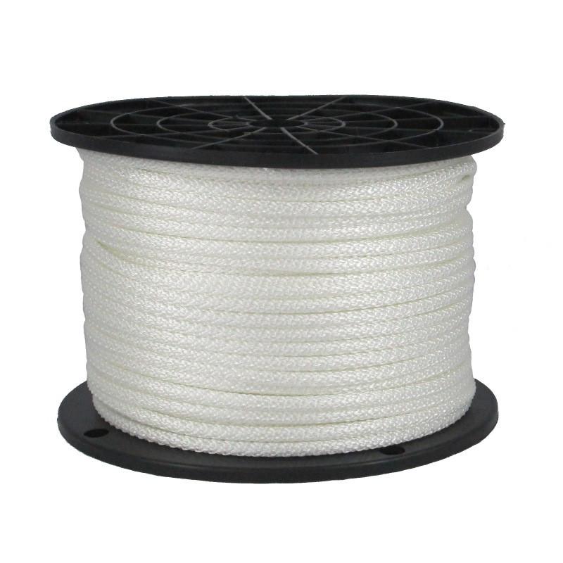 "3//8/"" 250 ft Dacron Polyester Rope White"