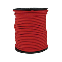"1/4"" Polyester Bungee Shock Cord Red"