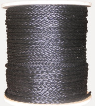 "3/8"" Hollow Braid Polypropylene Black"