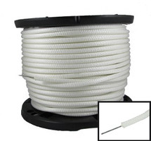 "1/4"" Polyester Rope w/ Wire Core White"