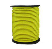 "1/4"" Polyester Bungee Shock Cord Yellow"