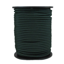 "1/4"" Polyester Bungee Shock Cord Hunter Green"