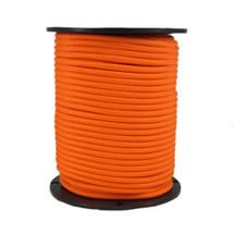 "1/4"" Polyester Bungee Shock Cord Neon Orange"