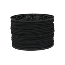 "3/16"" Polyester Bungee Shock Cord Black"