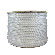 "3/8"" Twisted Nylon Rope White"