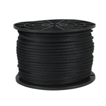"3/16"" Polyester Rope Black"