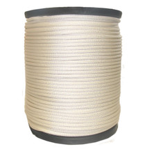 "1/4"" Kevlar Rope with Polyester Jacket White"