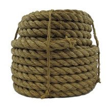 "1"" Twisted Manila Rope x 100ft"