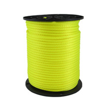 "1/4"" Polyester Rope Neon Yellow"