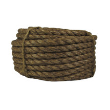 "3/4"" Twisted Manila Rope x 100 ft"