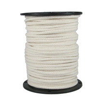 "1/4"" Cotton Rope Sash Cord White"