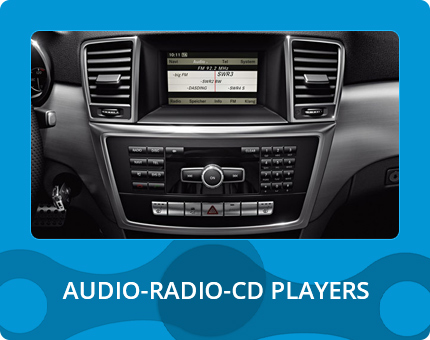 AUDIO - RADIO - CD PLAYERS