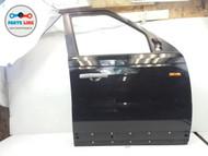 06-13 RANGE ROVER SPORT RIGHT FRONT PASSENGER DOOR FRAME PANEL SHELL BLACK 697 #RR040517